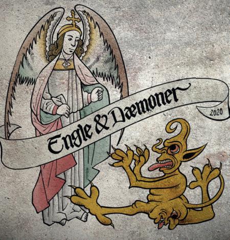 Logo Engle og Dæmoner